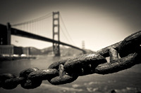 Chain Link at the Golden Gate Bridge